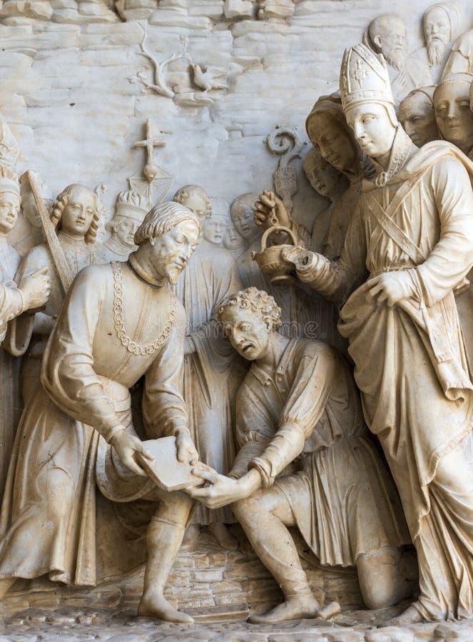 Certosa di Pavia obrazy stock
