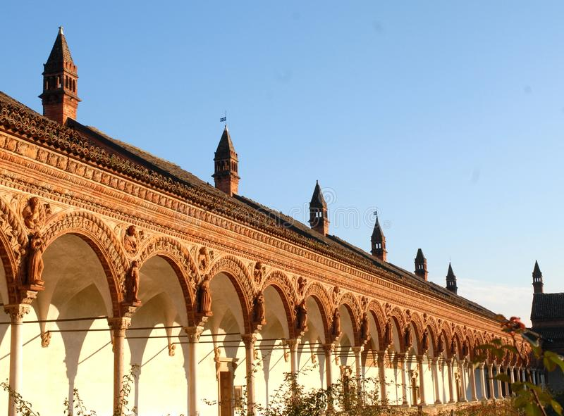 Certosa-Di Pavia royalty-vrije stock afbeeldingen