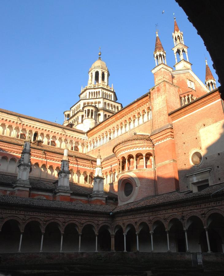 Certosa di Pavia zdjęcie royalty free