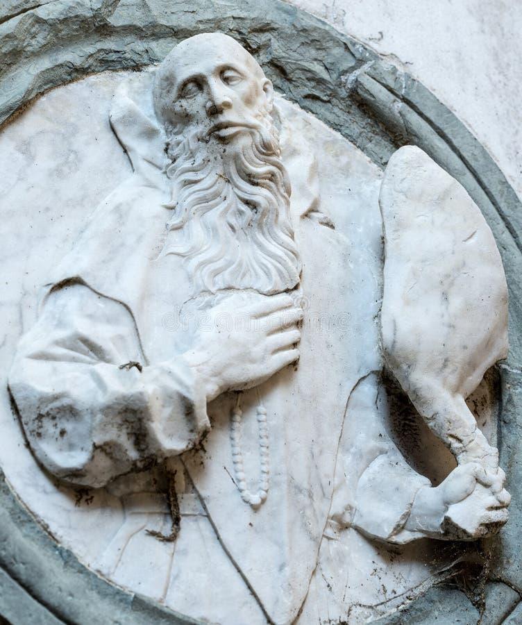Certosa di Pavia, kościół fotografia stock