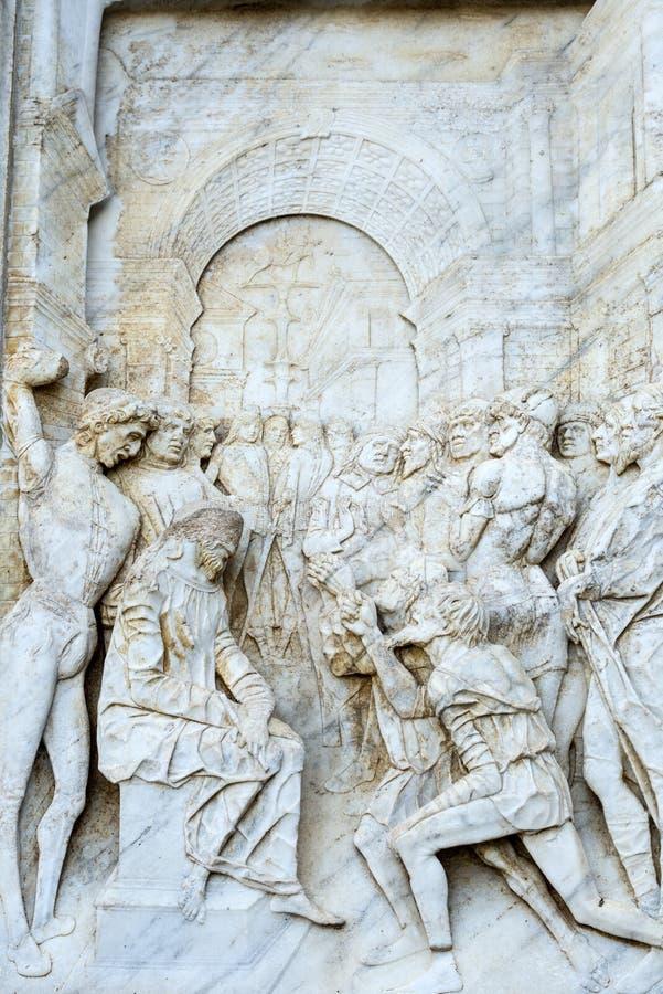Certosa di Pavia, kościół zdjęcie stock