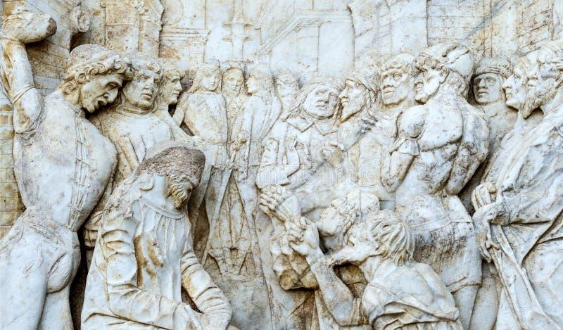 Certosa di Pavia, kościół zdjęcie royalty free