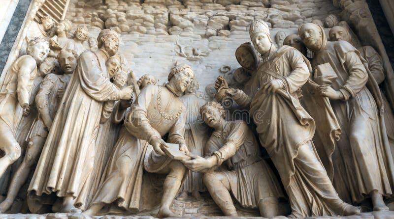 Certosa di Pavia Lombardy, Włochy (,) obraz stock