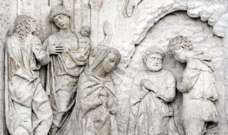 Certosa di Pavia Lombardy, Włochy (,) fotografia stock