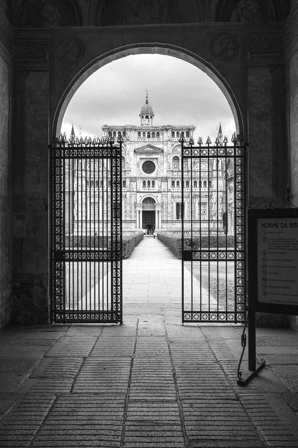 Certosa di Pavia Pekin, china obrazy royalty free