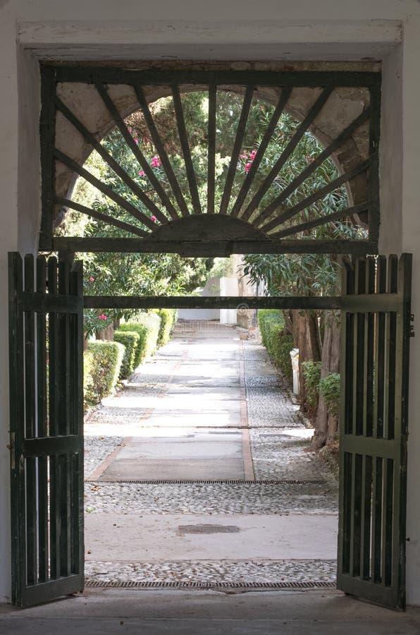 Certosa di San Giacomo, anche conosciuto come il Charterhouse della st Giacomo o il monastero Carthusian, sull'isola di Capri, l' immagine stock