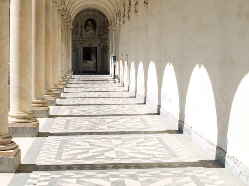 Certosa di San Martino immagini stock libere da diritti