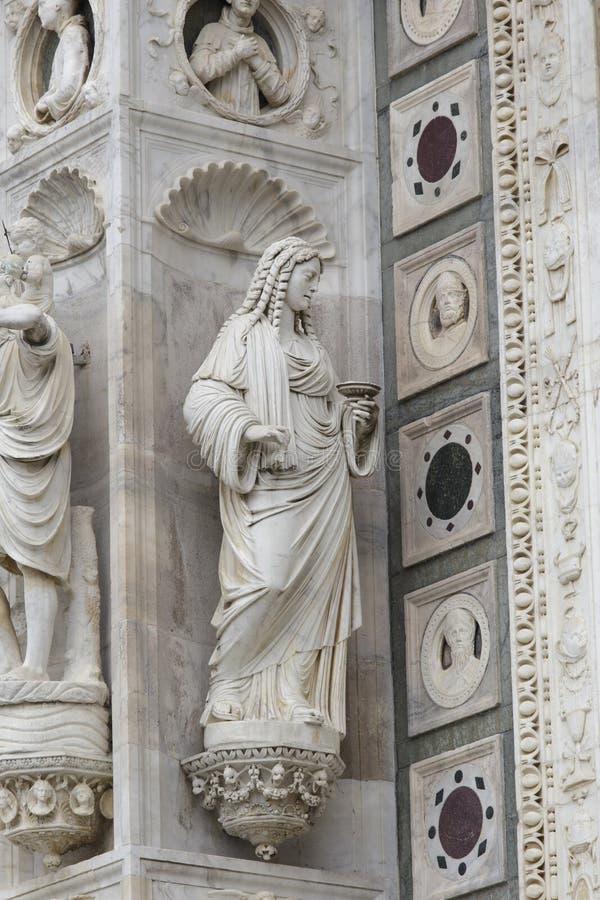 Certosa Pavia, Włochy obrazy stock
