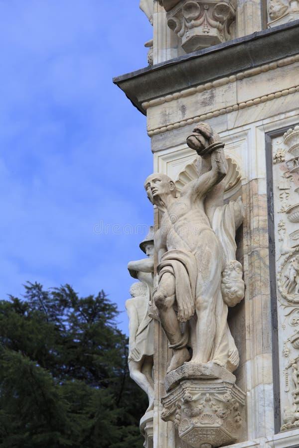 Certosa Pavia, Włochy fotografia royalty free
