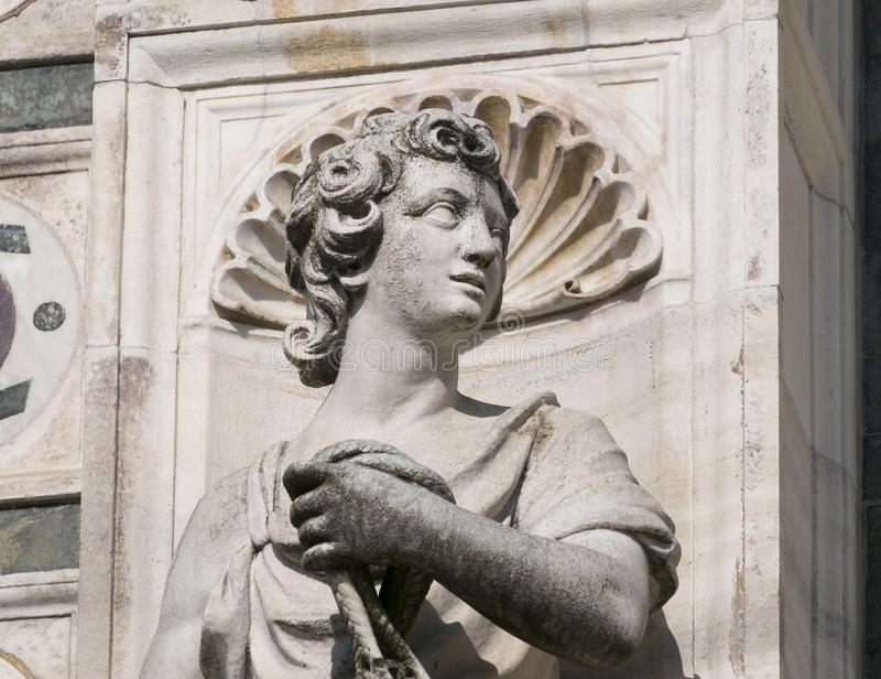 Certosadi Pavia Italië, historische kerk stock foto's