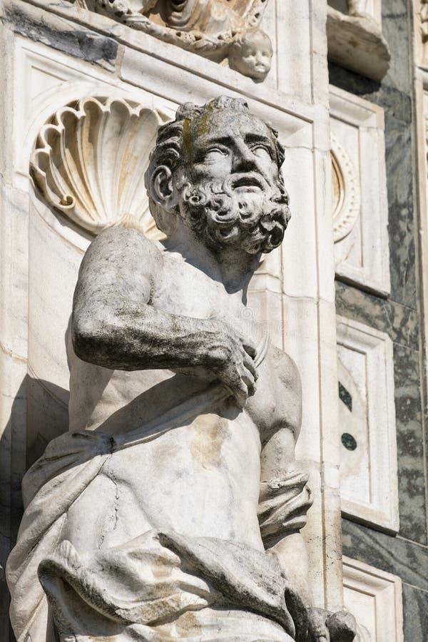 Certosadi Pavia Italië, historische kerk stock afbeelding
