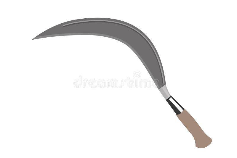 Cerulit印度尼西亚传统武器 库存照片