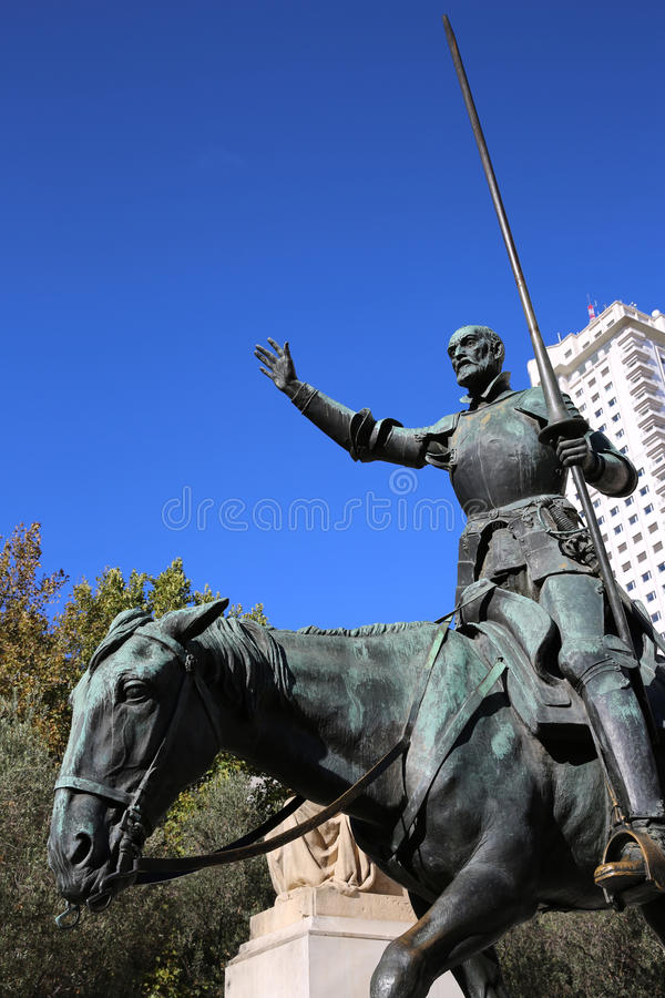 Download Cervantes Monument. Madrid stock photo. Image of europe - 28208030