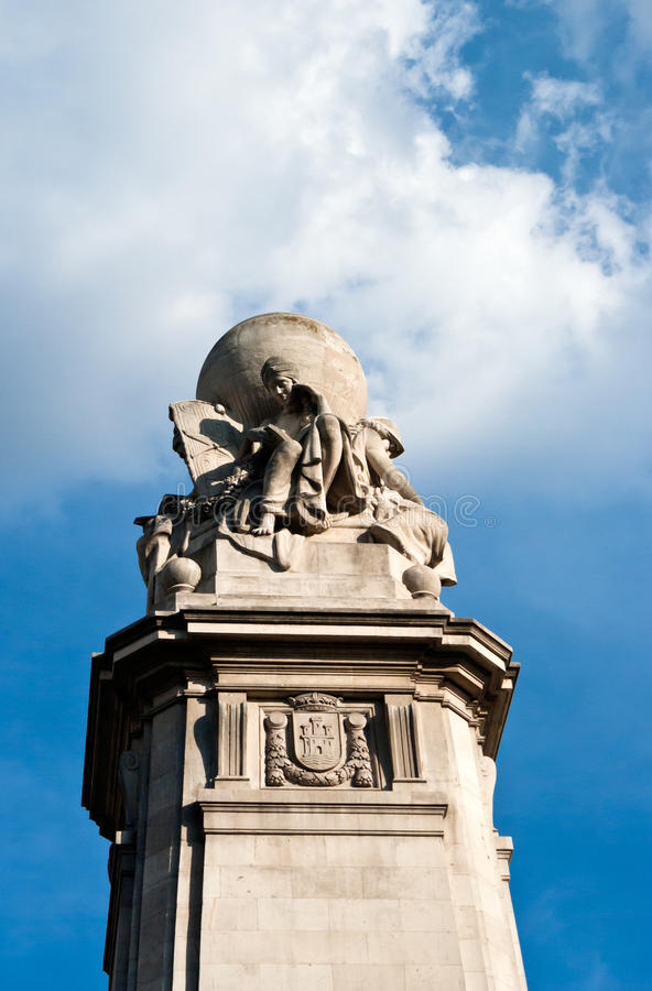 Download Cervantes Monument At Plaza Espana,Madrid Stock Photo - Image: 38424896