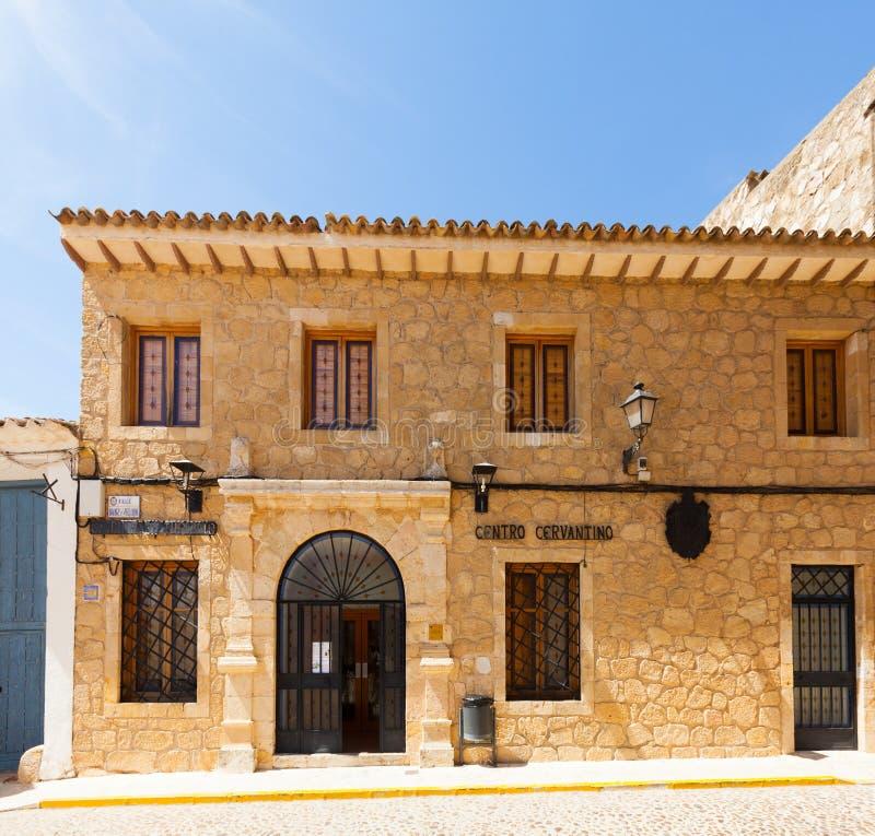 Cervantine Museum in Gr Toboso, Spanje stock foto's