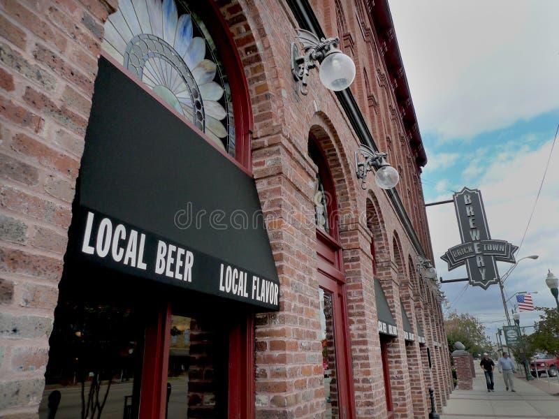 Cervecería de Bricktown, Fort Smith, Arkansas imagen de archivo libre de regalías