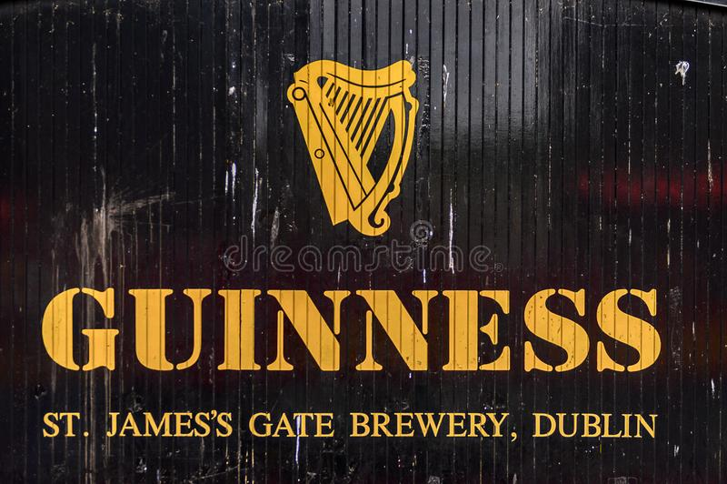 Cervecería de Guinness, Irlanda foto de archivo