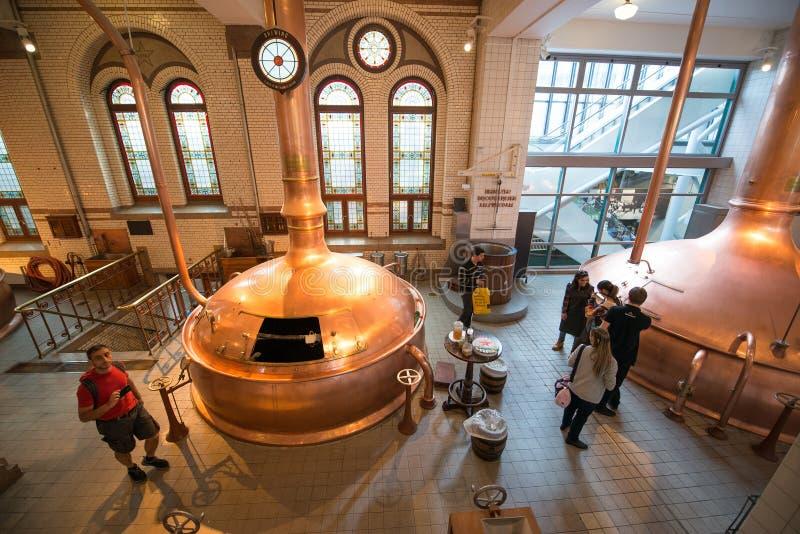 Cervecería de Heineken foto de archivo libre de regalías