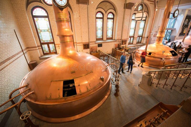Cervecería de Heineken fotos de archivo libres de regalías