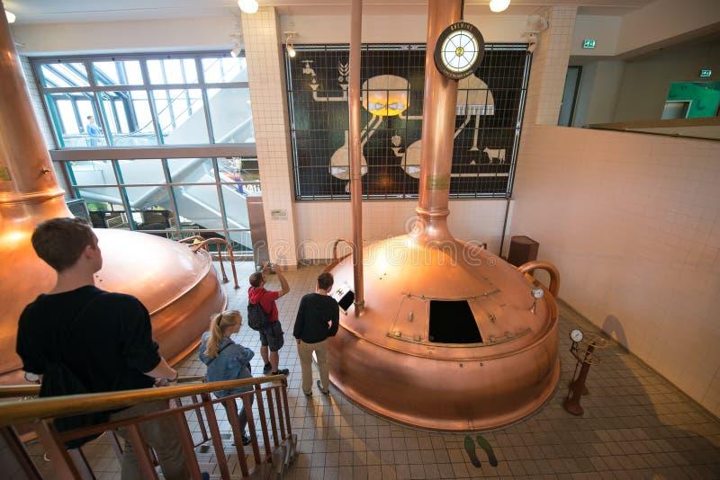 Cervecería de Heineken fotografía de archivo libre de regalías
