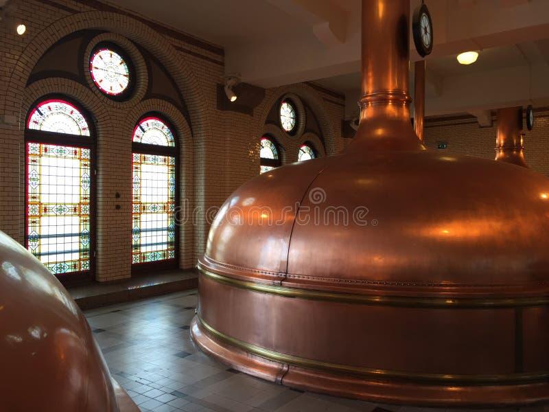 Cervecería de la cerveza imagen de archivo libre de regalías