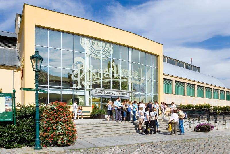 Cervecería de Pilsner Urquell, Pilsen, Bohemia, República Checa fotos de archivo libres de regalías