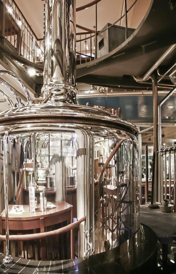 Cervecería del café imagen de archivo