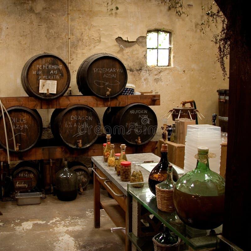 Cervecería del vino y del vinagre. imagenes de archivo