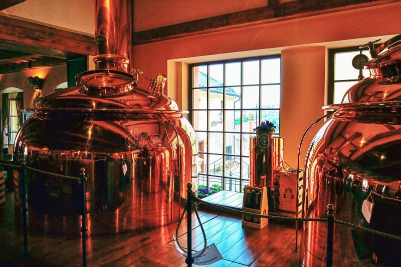 Cervecería en Banska Stiavnica imágenes de archivo libres de regalías