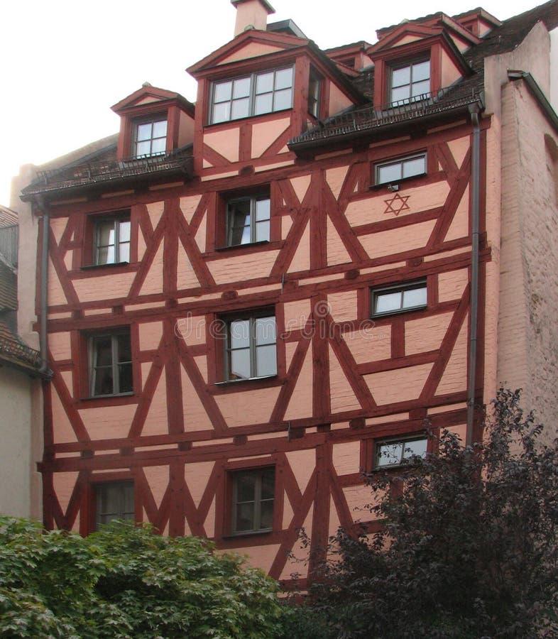 Cervecero de la casa en Nuremberg. foto de archivo libre de regalías