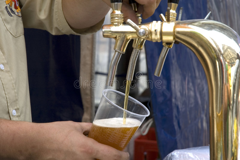 A cerveja foto de stock