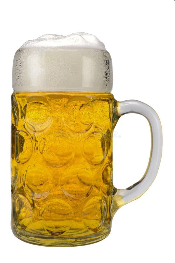 cerveja bávara alemão de vidro imagens de stock