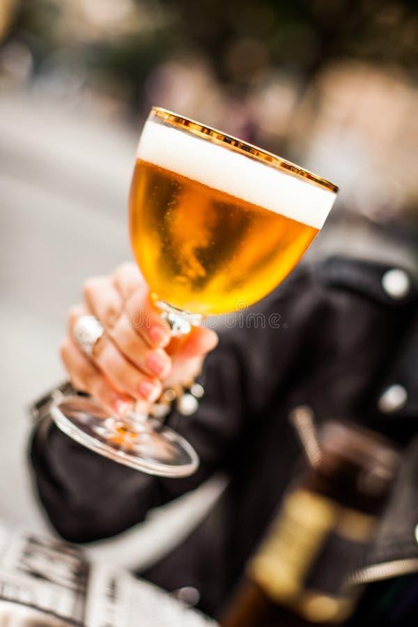 Cerveja belga imagens de stock royalty free