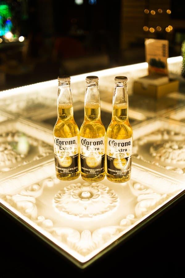Cerveja de Corona Extra fotos de stock