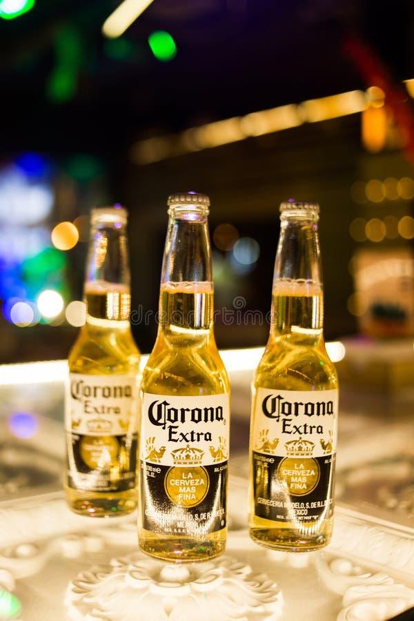 Cerveja de Corona Extra imagens de stock royalty free