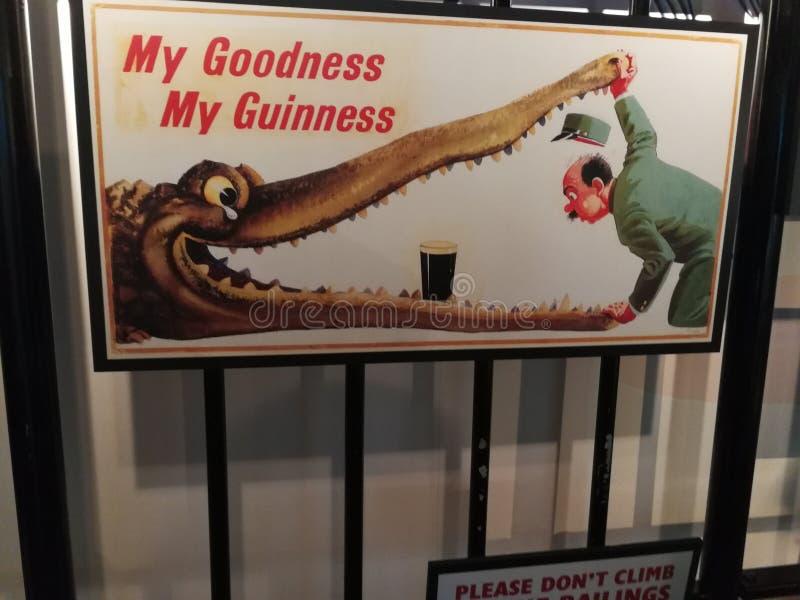 Cerveja de Guinness imagens de stock