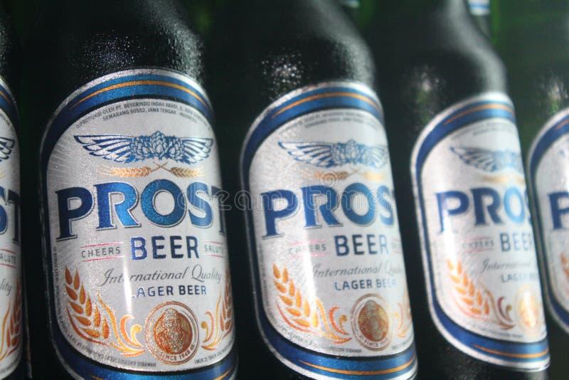 Cerveja de Prost fotografia de stock royalty free