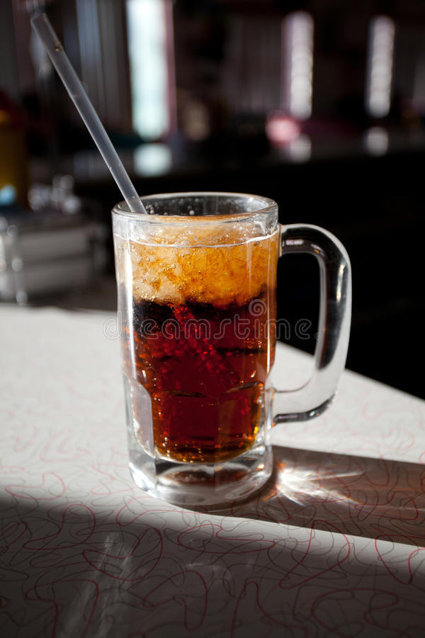 Cerveja de raiz foto de stock
