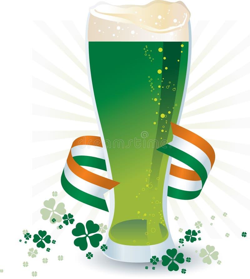 Cerveja do dia do St Patricks ilustração stock