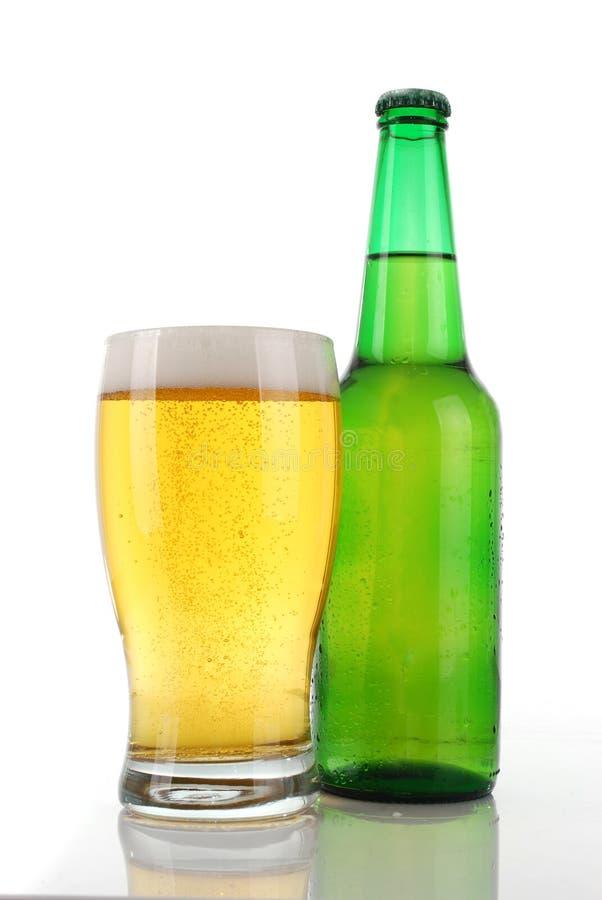Cerveja loura foto de stock royalty free