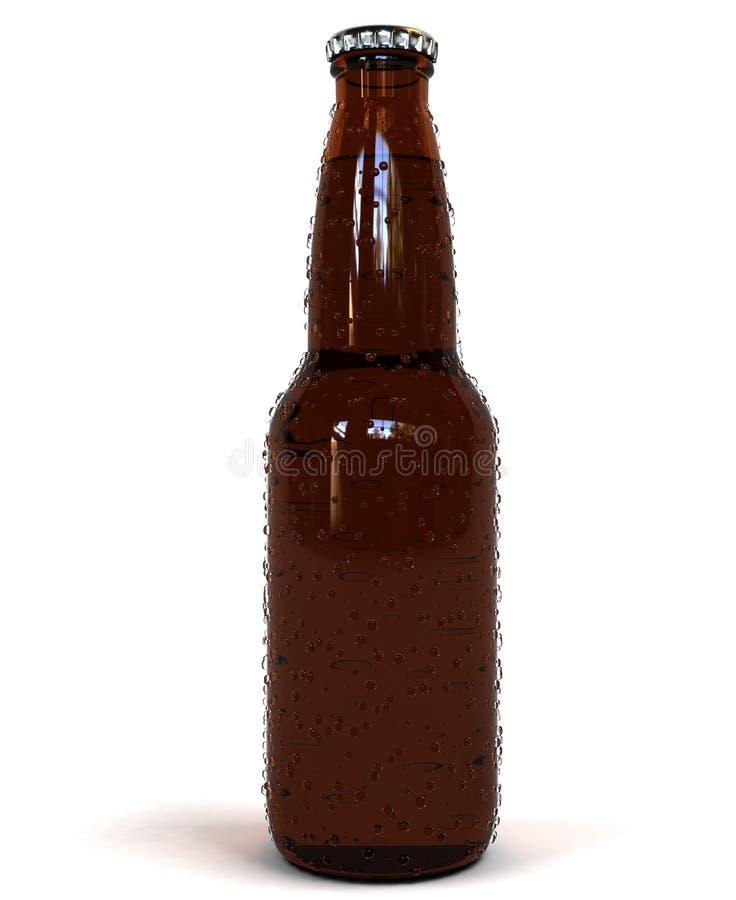 Cerveja molhada foto de stock