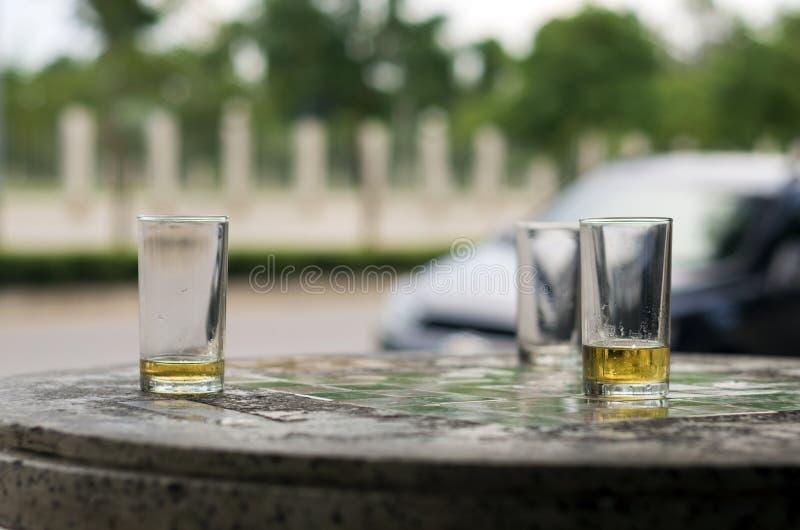 Cerveja nos vidros fotografia de stock royalty free