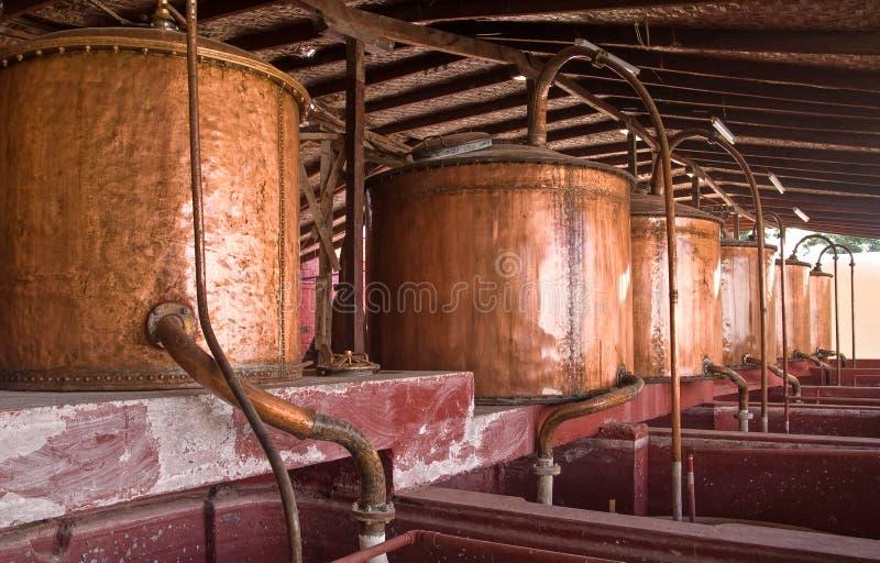 Cervejaria velha no AIC fotos de stock