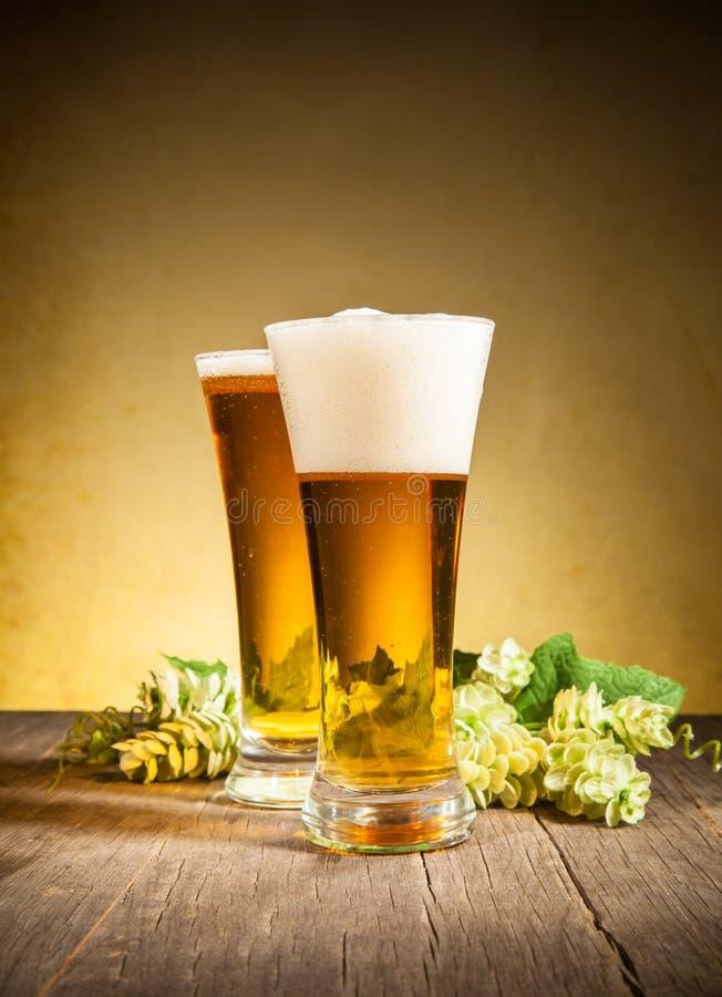 Cervejas imagens de stock