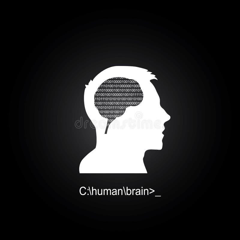 Download Cervello Umano Come Computer Illustrazione Vettoriale - Illustrazione di disegno, elettrico: 56886083