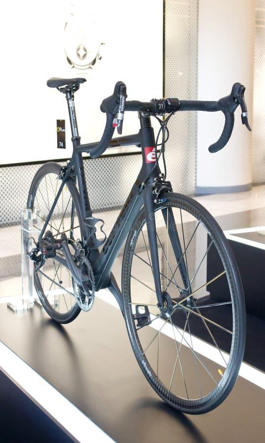 Cervelo bicykle na pokazie. obraz stock