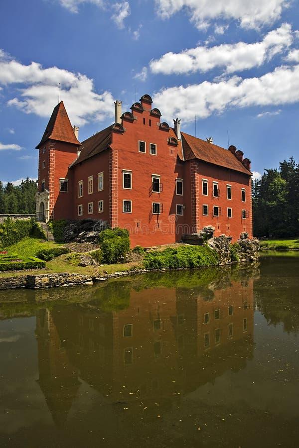 Cervena Lhota castle stock images