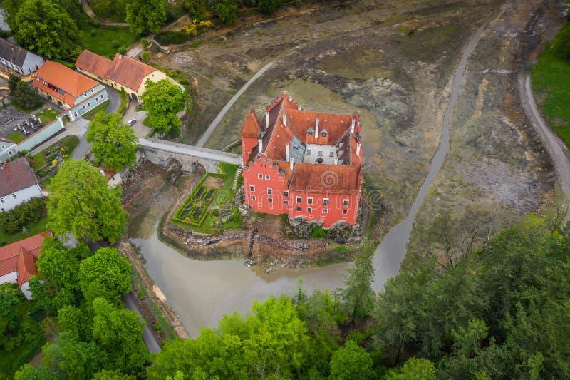 Cervena Lhota in der Tschechischen Republik lizenzfreie stockbilder