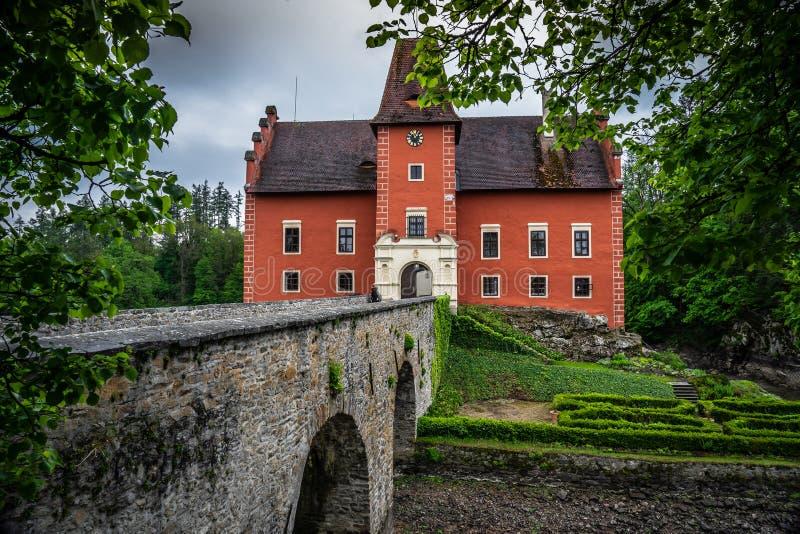 Cervena Lhota in der Tschechischen Republik stockbilder