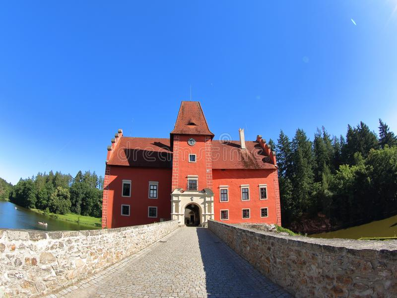 Cervena Lhota, Tsjechische Republiek royalty-vrije stock fotografie
